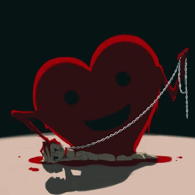 Amor - Esse artista desenhou as emoções que todos sentimos, mas não conseguimos expressar em palavras