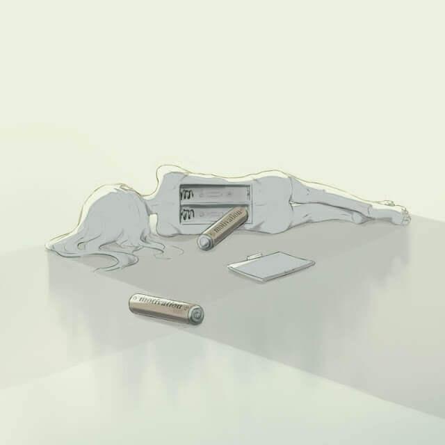 Bateria - Esse artista desenhou as emoções que todos sentimos, mas não conseguimos expressar em palavras