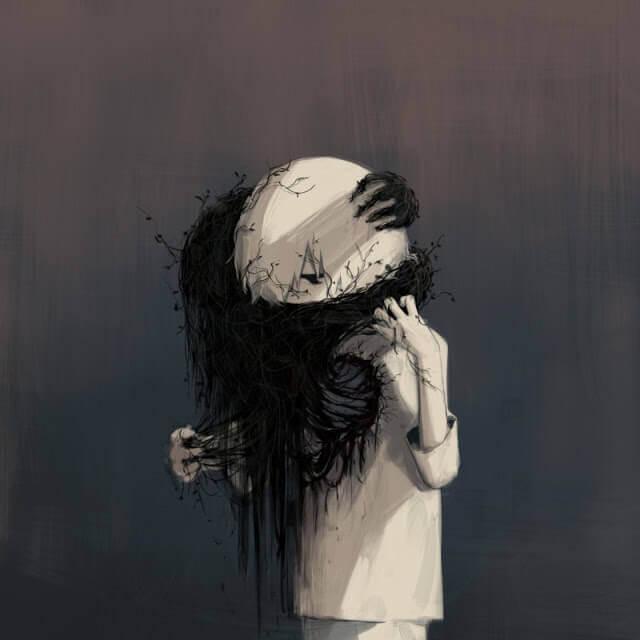 Enfermedad - Esse artista desenhou as emoções que todos sentimos, mas não conseguimos expressar em palavras