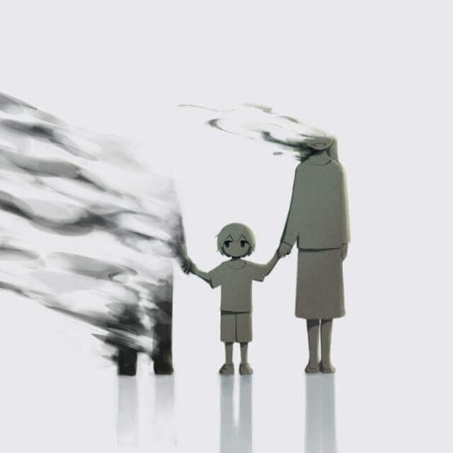 Evaporacion - Esse artista desenhou as emoções que todos sentimos, mas não conseguimos expressar em palavras