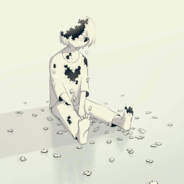 Fragilidad - Esse artista desenhou as emoções que todos sentimos, mas não conseguimos expressar em palavras